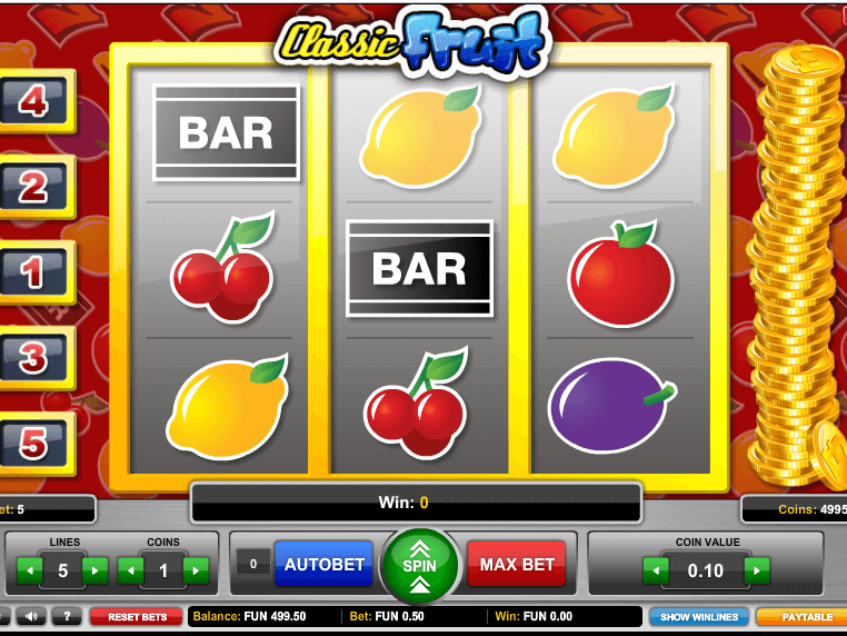 Free Fruit Machine Online