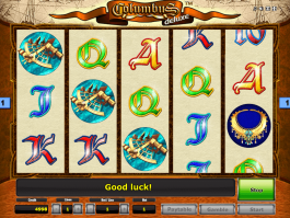 Picture of free online slot Columbus Deluxe