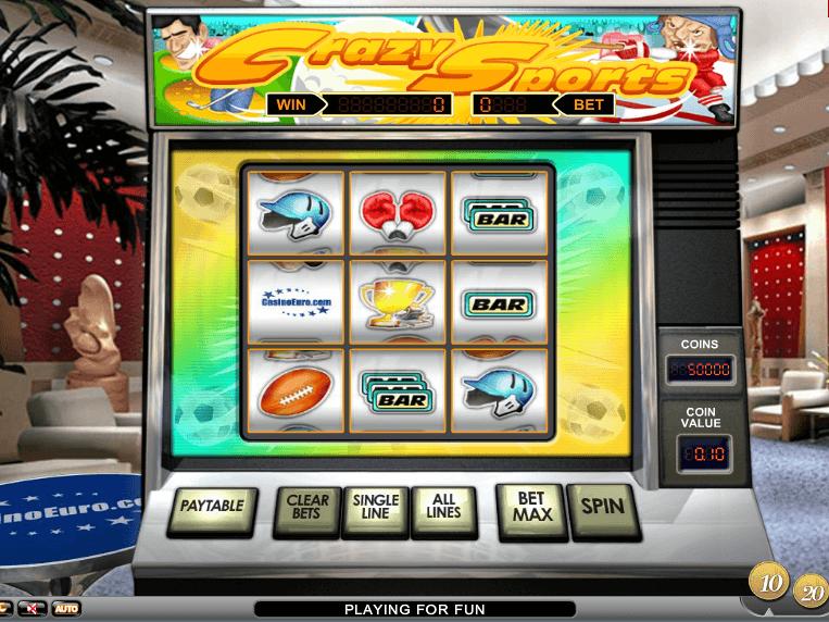 Slot Crazy Sports online free no deposit