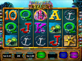 Pic from slot Deep Sea Treasure free online