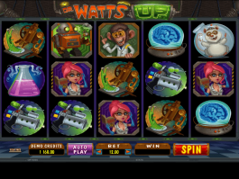 Pic of the free online slot Dr. Watts Up