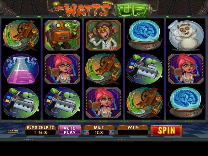 Dr. Watts Up Slot Machine