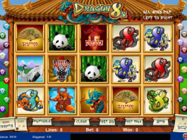 pic of free online slot Dragon 8s