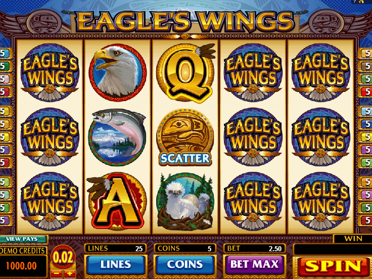Picture from slot Eagles Wings free online
