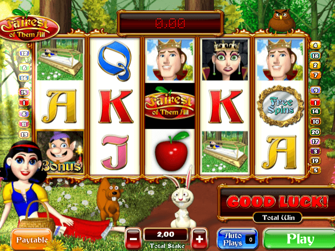picture from slot Fairest of them all free online