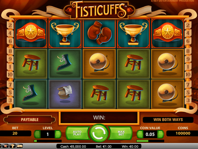 pic of Fisticuffs free online slot