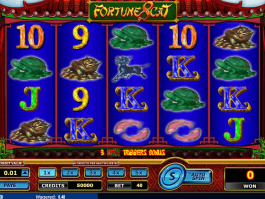 picture from free online slot Fortune 8 Cat