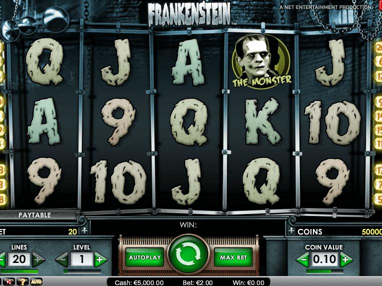 pic of free online slot Frankenstein