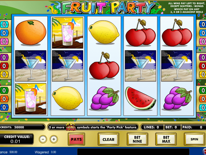 picture from Fruit Party free online slot