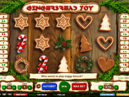 pic from free online slot Gingerbread Joy