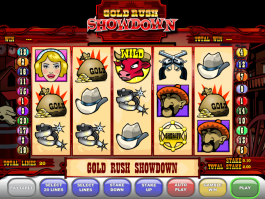 picture of free online slot Gold Rush Showdown