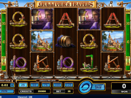 picture from free online slot Gulliver´s Travels