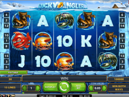picture from free online slot Lucky Angler