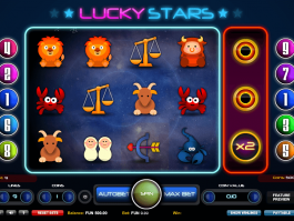 picture of online slot Lucky Stars free