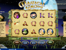 picture from slot Magical Grove free and online