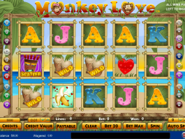 pic from slot Monkey Love online free