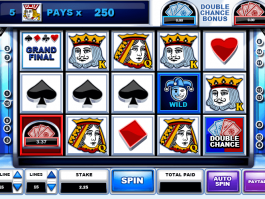picture of Play your cards right free online slot