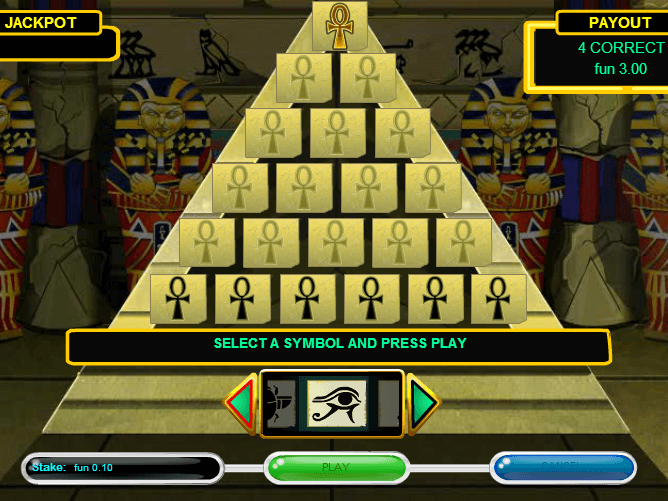 Pyramid Slots Machine