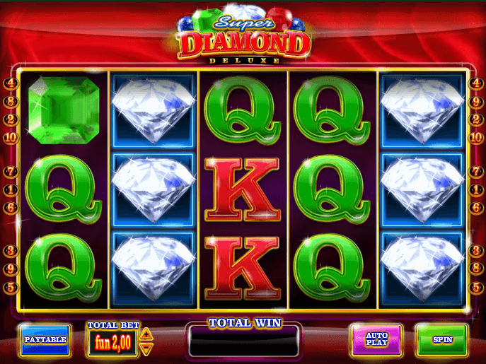 Super diamond deluxe free slot sally silvers roulette