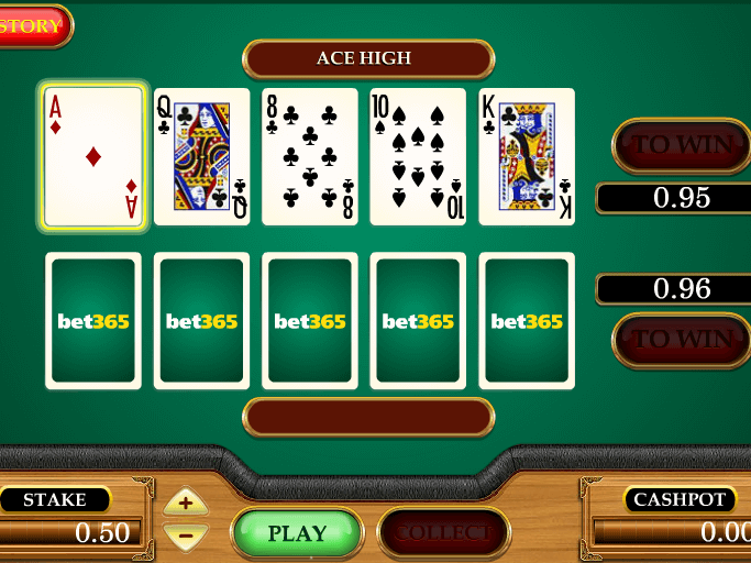 pic of card slot game Texas Choose Em free online