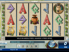 picture of free online slot Thundering Zues