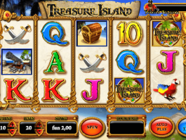 picture from slot Treasure Island free online