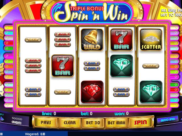 Spiele Triple Bonus Spin N Win - Video Slots Online
