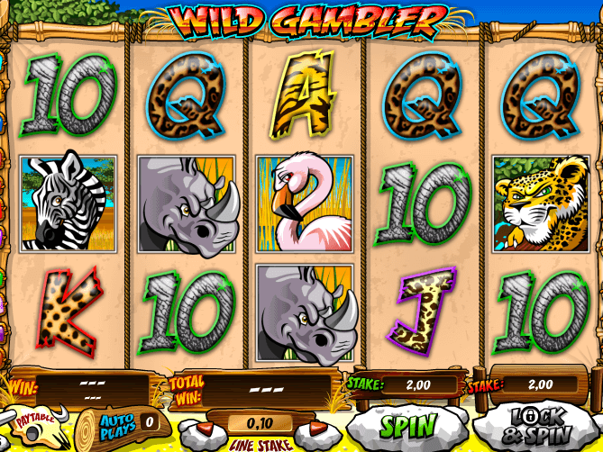 pic from free online slot Wild Gambler