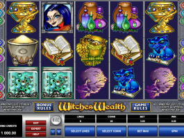 pic of free online slot Witches Wealth