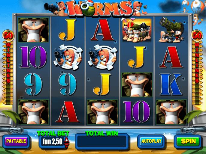 worms slot machine play free online game slotu com