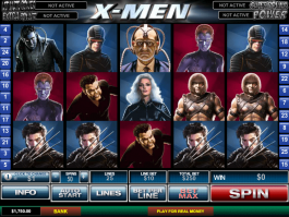 picture of slot X men free online