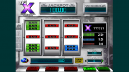 Casino slot machine Big X online