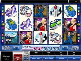 free online slot Agent Jane Blonde