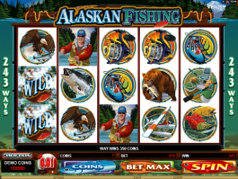 Alaskan Fishing online free slot