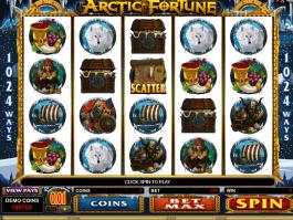 Slot machine with no registration Arctic Fortune