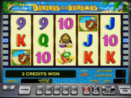 Online free slot Bananas Go Bahamas no deposit