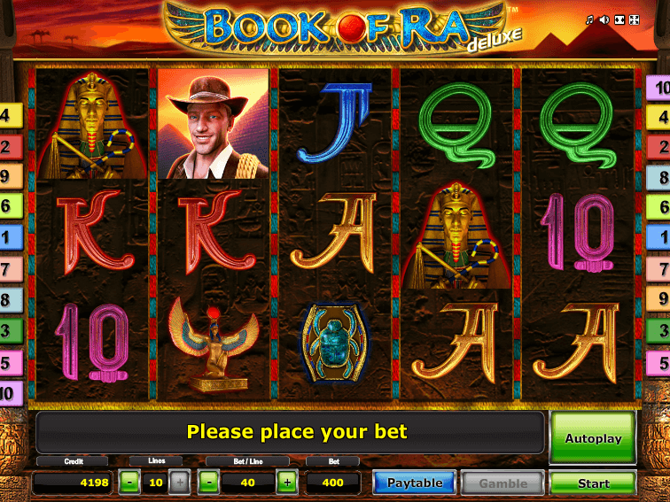 book of ra deluxe slots free