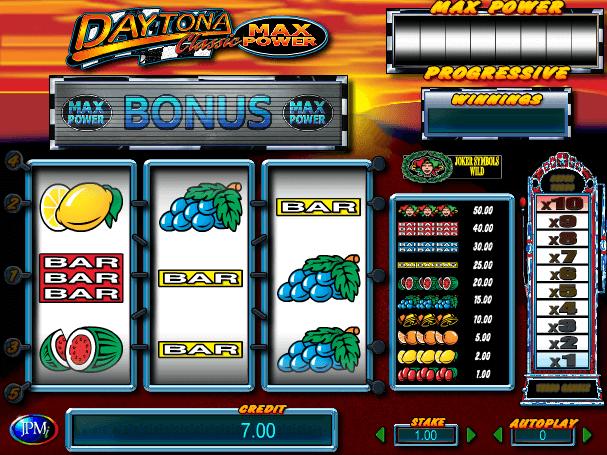 Daytona Max Power free slot online