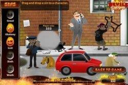 Bonus game from slot machine Devil's Delight online no deposit