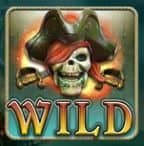Wild of casino online slot game Ghost Pirates