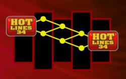 Gra bonusowa w darmowej maszynie do gier Hotlines 34