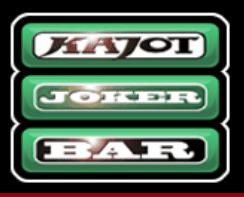 A Kajot Hotlines 34 nyerőgépének Joker Bar szimbóluma