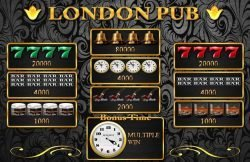 Joc de aparate gratis online London Pub