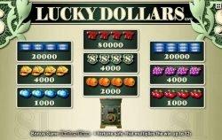 Tragaperras gratis en línea Lucky Dollars
