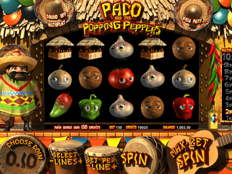 free online slot Paco and the Popping Peppers