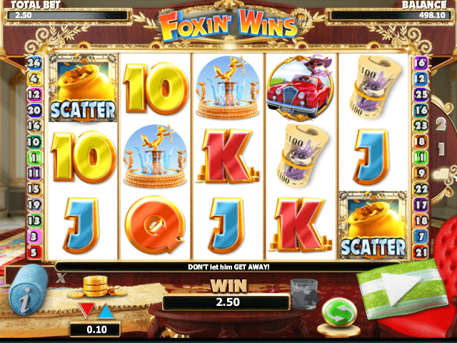 picture from free online slot Foxin´ Wins