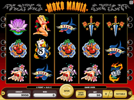 Picture from free online slot Moko Mania