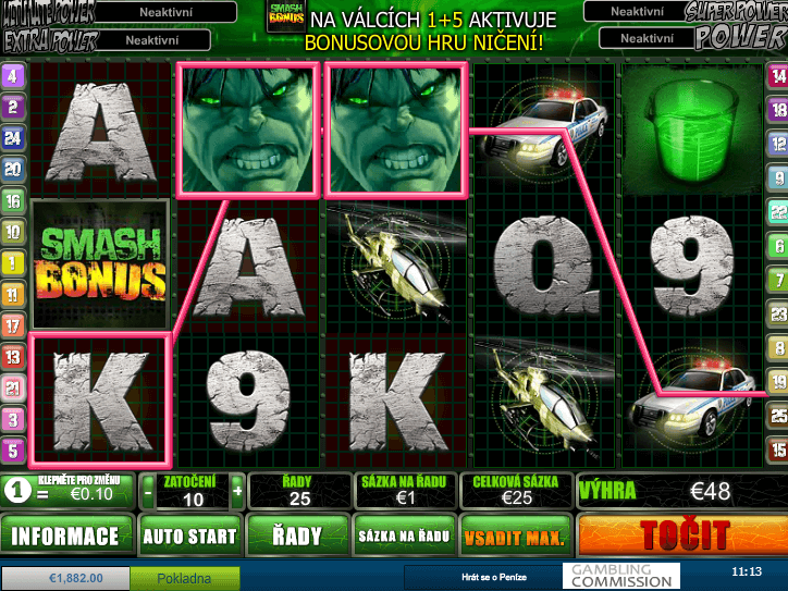 online free slot The Incredible Hulk