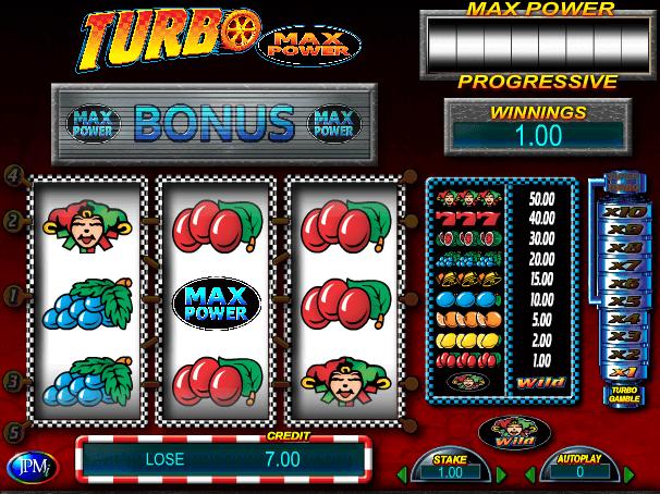 Free online slot Turbo Gold Max Power