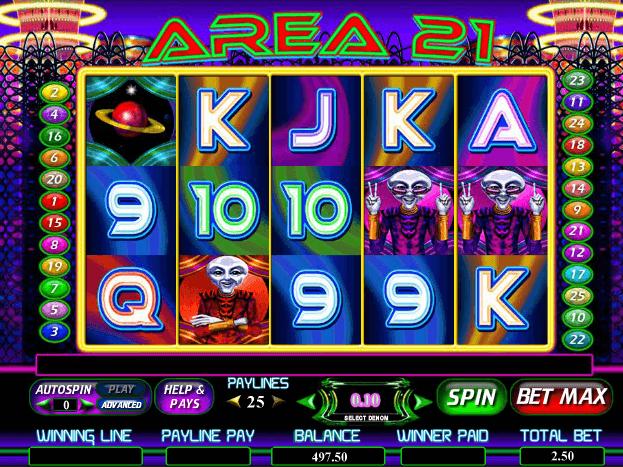 Spiele Area 21 - Video Slots Online
